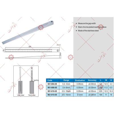 Industrial ruler