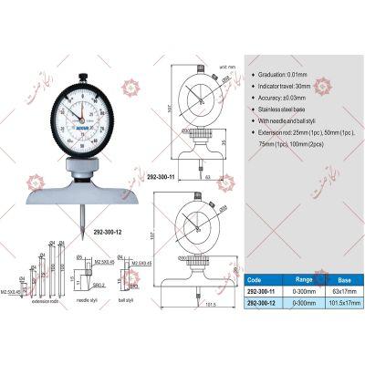 Dial Depth gauge