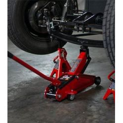 Service Jack and Oil Pump